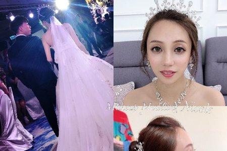 典雅公主(雅雯)白紗造型