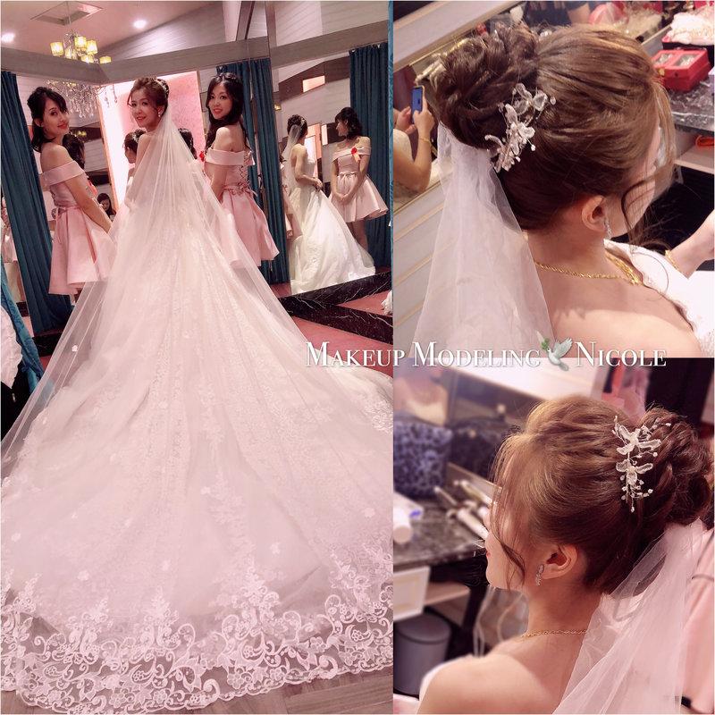 Nicole如~新娘秘書服務方案作品