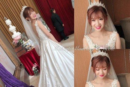 女神新娘(靜莛)白紗造型