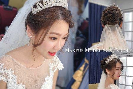 夢幻公主(郁涵)白紗造型