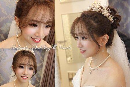 甜美公主(心偉)白紗造型
