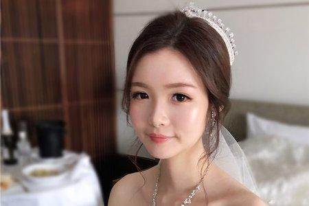 【白紗妝容】韓系自然輕透