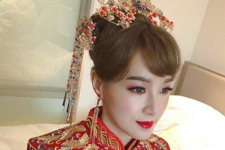 中國風(啟芳)鳳冠造型