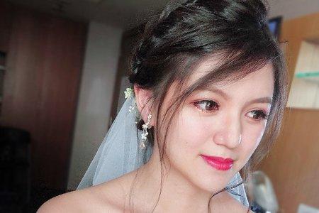 【迎娶造型】韓系氣質盤髮