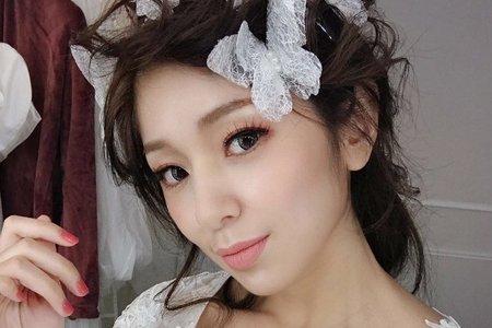 【婚紗造型】日系輕線條編髮