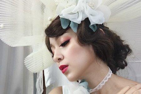 【婚紗造型】歐美時尚復古