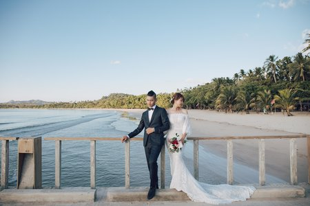 海外愛尼島婚紗 |Dennis ❤ Iris