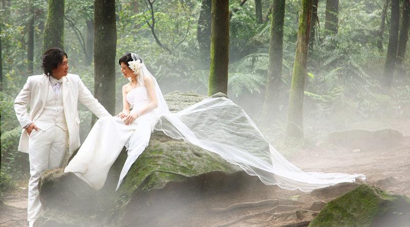 婚紗攝影拍攝作品