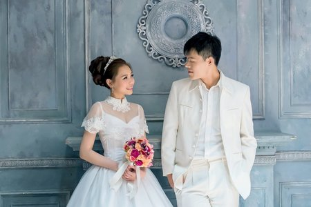 婚紗作品-陽明山攝影基地拍攝
