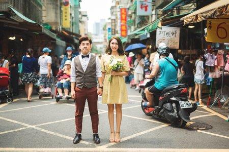 自然清新   wedding photo