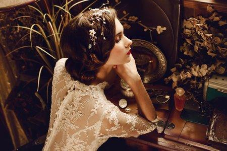 Alisha&Lace愛儷莎和蕾絲法式手工婚紗 聯名方案