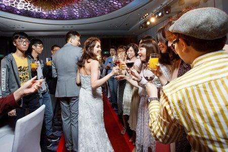 婚禮攝影 單晚宴 喜來登