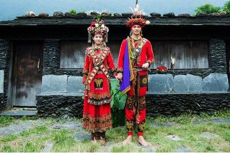 原住民婚紗