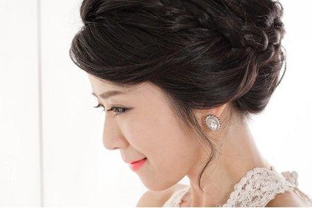 韓系簡約編髮