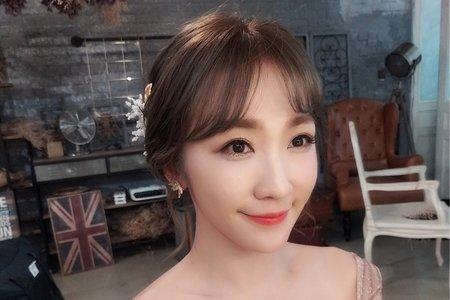 韓系乾淨低盤髮