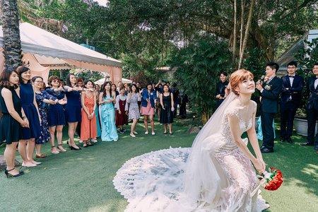 GI影力 婚禮紀錄 儀式+午宴 台北青青時尚會館