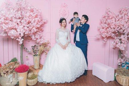 GI 影力 婚紗攝影 棚內