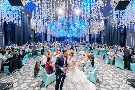 GI 影力 婚禮紀錄 晶綺盛宴 銀河廳