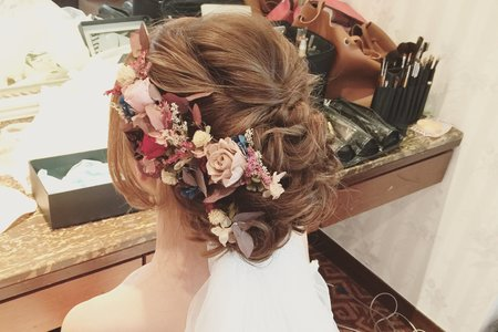 甜美*浪漫花式盤髮