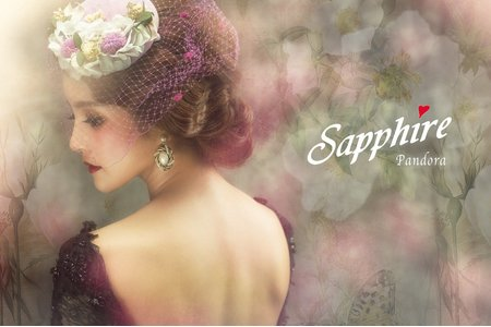 【職人創作】奧利粉 /紗法亞Sapphire wedding新娘秘書