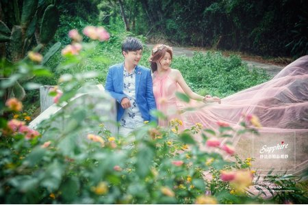 紗法亞Sapphire wedding 婚紗相本-幸福客樣