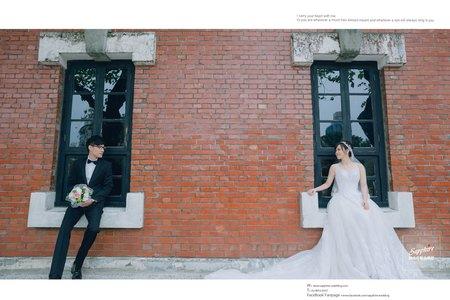 等待本身就很浪漫-紗法亞精品婚紗Sapphire Wedding