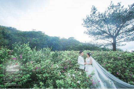 香杉的告白-紗法亞精品婚紗Sapphire Wedding