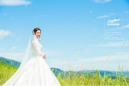 紗法亞Sapphire wedding婚紗相本-最美時刻