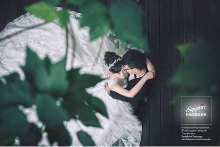 陽光偃臥在廊道 /紗法亞精品婚紗sapphire wedding婚紗相本