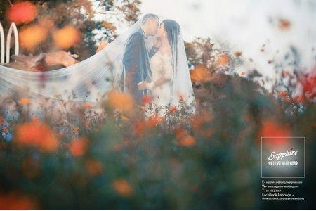 荒野浪漫- 紗法亞Sapphire wedding 婚紗相本