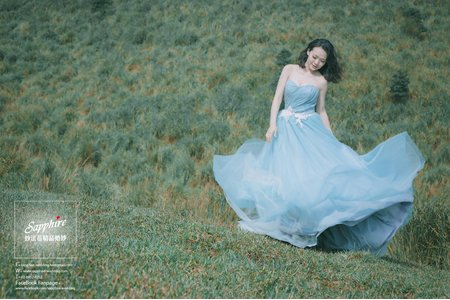 藝術照活在森林裡-紗法亞精品婚紗Sapphire Wedding