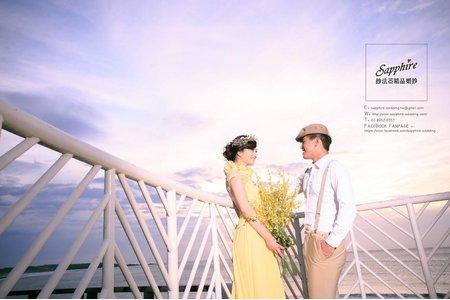 紗法亞Sapphire wedding 婚紗相本_星空時刻