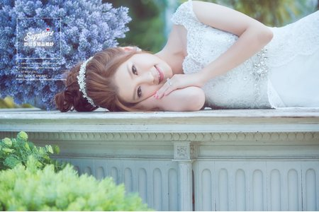 Sapphire wedding婚紗相本