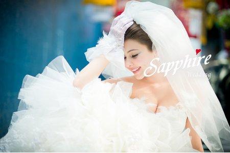 紗法亞Sapphire wedding婚紗相本-手工禮服