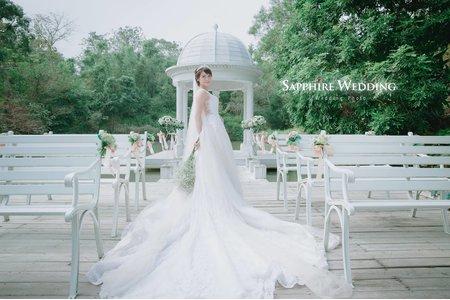 一抹微光灑下-紗法亞sapphire wedding婚紗相本