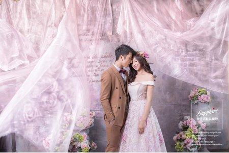 給記憶裡,親愛的你 /紗法亞精品婚紗Sapphire Wedding