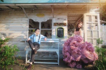 純粹的快樂 -紗法亞Sapphire wedding 婚紗相本