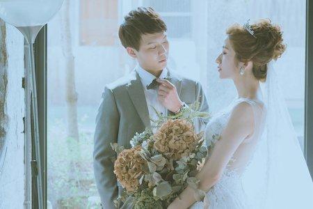 翻開一頁青和-紗法亞Sapphire wedding 婚紗相本