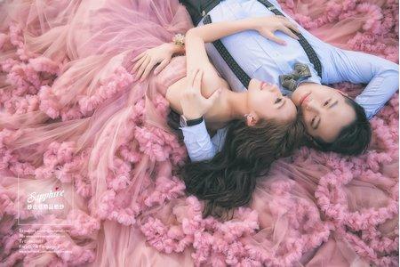 純粹的快樂 /紗法亞Sapphire wedding 婚紗相本