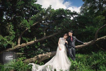 週末的輕美式時尚 /紗法亞精品婚紗Sapphire Wedding