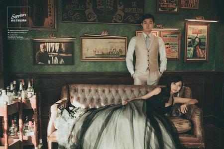 復古靈魂-紗法亞精品婚紗sapphire wedding婚紗相本