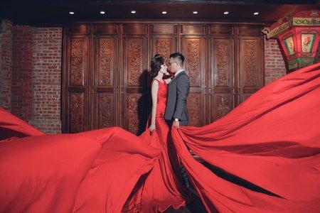 中式 /紗法亞精品婚紗sapphire wedding婚紗相本