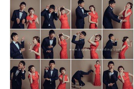 12生笑 /紗法亞精品婚紗Sapphire Wedding