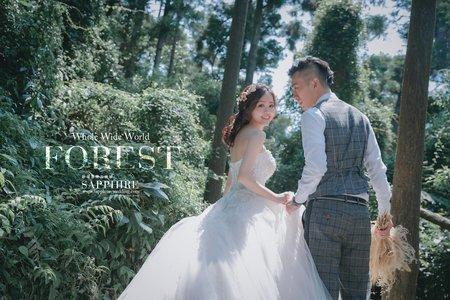 美式婚紗/紗法亞精品婚紗Sapphire Wedding