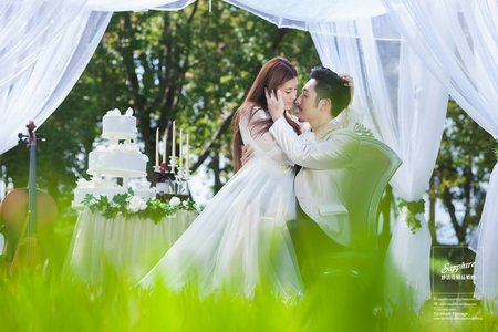 新人婚紗作品/紗法亞精品婚紗Sapphire Wedding