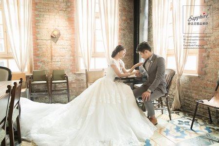 巴洛克 /紗法亞Sapphire wedding婚紗相本