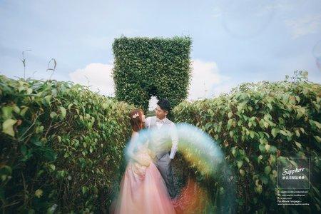 紗法亞精品婚紗sapphire wedding婚紗相本