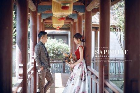 復古靈魂 /紗法亞精品婚紗sapphire wedding婚紗相本