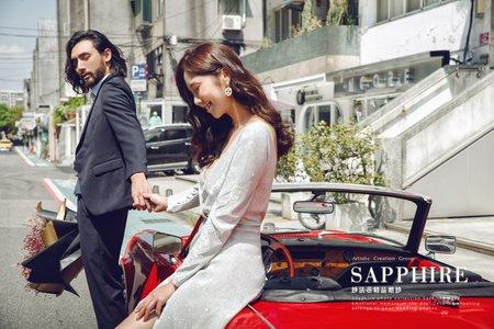美式微電影攝影/紗法亞精品婚紗Sapphire Wedding