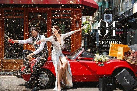 美式微電影攝影 /紗法亞精品婚紗Sapphire Wedding